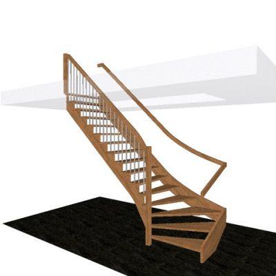 3. schody